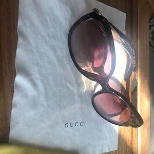 Gucci sunglasses tortoise